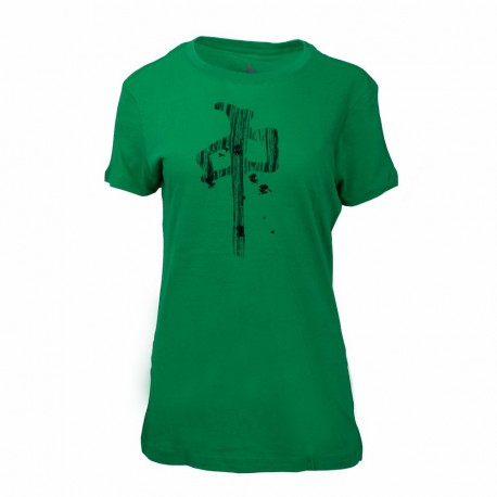 Dámské triko RED DRAGON Dangled Tee / kelly green