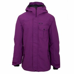 Pánská bunda OAKLEY Mig Hooded Shell 15K / helio purple