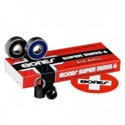 Bones Bearings - Ložiska Bones Swis 6-Ball (8 ks)
