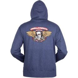 Powell Peralta - Powell Peralta Winged Ripper mikina s kapucou na zip - Navy