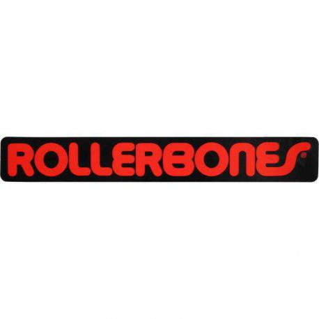 Rollerbones - Rollerbones 18 x 2,5 cm Line Sticker Single