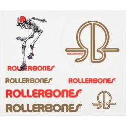 Rollerbones - Rollerbones Derby Single Sticker