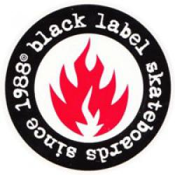 Black Label - Samolepka Black Label since 88 7.5 cm