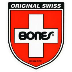 Bones Bearings - Samolepka Swiss Bearing Shield Medium