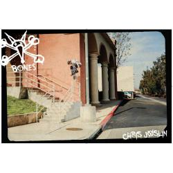Bones Wheels - Poster Bones Bearings Chris Joslin