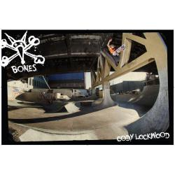 Bones Wheels - Poster Bones Bearings Coddy Lockwood