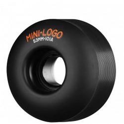 Mini Logo - Kolečka MiniLogo 53mm 101A Black