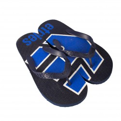 Žabky ETNIES Summer Time (black/blue/white)