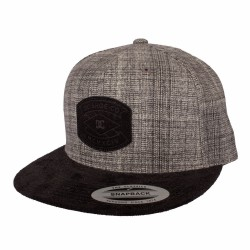 Kšiltovka DC Partner / heaher grey/black