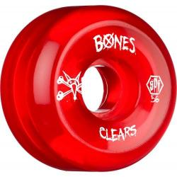 Bones Wheels - Kolečka BONES WHEELS SPF Clear Red 60mm P5