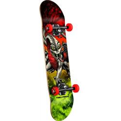 Powell Peralta - Powell Peralta Cab Dragon Storm Complete Skateboard Red/Lime - 7.75