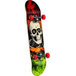 Powell Peralta - Powell Peralta Ripper Storm Complete Skateboard Red/Lime - 8
