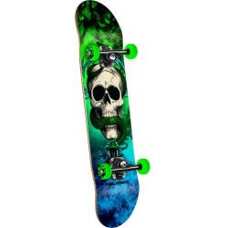 Powell Peralta - Powell Peralta Skull and Snake Storm Complete Skateboard Green/Blue - 7.625