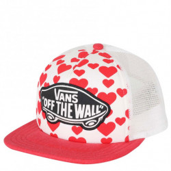 Kšiltovka VANS Beach Girl Trucker / hearts