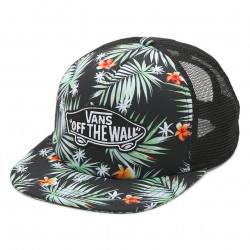 Kšiltovka VANS Classic Patch Plus Trucker / black decay palm