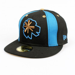 Kšiltovka ALMOST New Era Asterisk / black/blue
