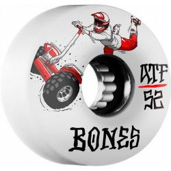 Bones Wheels - BONES ATF SEG Cross 52x32 Skateboard Wheel 80a 4pk