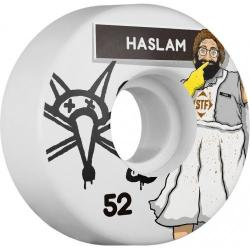 Bones Wheels - BONES STF Pro Haslam Lunch Lady 52x29 V3 Skateboard Wheel 83B 4pk