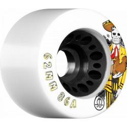 Rollerbones - Rollerbones Day of the Dead Speed wheel 62mm x 86a White 4 Pk