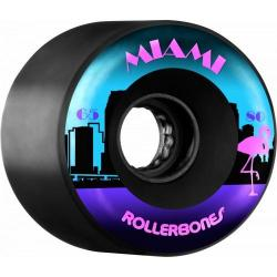 Rollerbones - RollerBones Miami outdoor wheel 65x80a Black 8pk