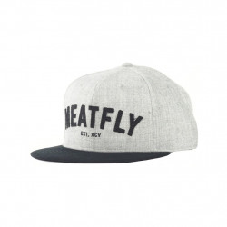 Kšiltovka MEATFLY District 17 / heather gray