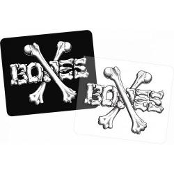 Bones Wheels - BONES WHEELS Crossbone Square 10cm Single Sticker