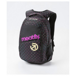 Batoh MEATFLY Exile Backpack,G-Rainbow Dot/black print