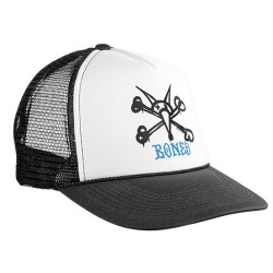 Kšiltovka BONES Cap Mesh Rat Bone / white/black