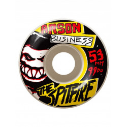 Kolečka Spitfire Arson business 55 mm / white