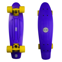 Plastový cruizer RED STORM Pennyboard skate komplet / purple/yellow/yellow