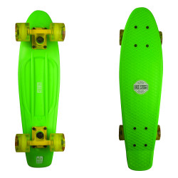 Plastový cruizer RED STORM Pennyboard skate komplet / green/yellow/yellow