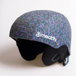 Snowboardová helma MEATFLY Military Uni Electric C / purple