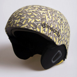 Snowboardová helma MEATFLY Military Uni Electric B / yellow