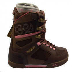 Snowboardové boty THIRTYTWO PRION / brown-pink