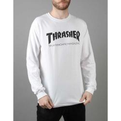 Thrasher - Triko Thrasher Skate Mag Long Sleeve white