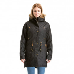 Dámská bunda MEATFLY Rainy Parka / black heather