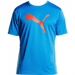 715a3dd3c20 Pánské triko PUMA TRAINING GRAPHIC   strong blue