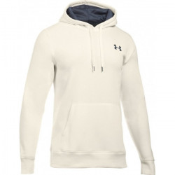 Pánská mikina UNDER ARMOUR STORM RIVAL FLEECE / white