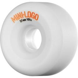 Mini Logo - Kolečka Mini Logo A-cut Wheel 51mm 101a White