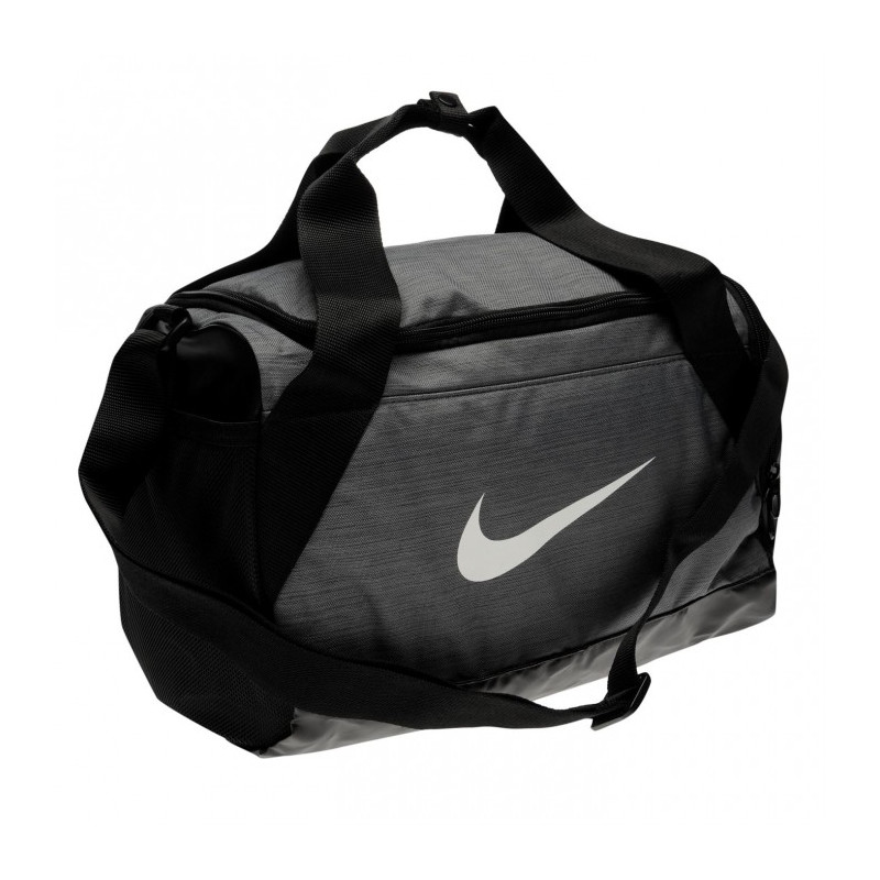 bb58058d1e Taška NIKE BRASILIA XS GRIP DUFFLE BAG   grey-black
