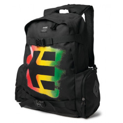 Batoh ETNIES Essential Skate bag / black/rasta