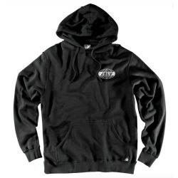 JSLV - JSLV mikina GLOBAL PULLOVER FLEECE- BLACK