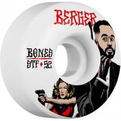 Bones Wheels - Kolečka BONES WHEELS STF Pro Berger Spy Skateboard V3 52mm 103A 4pk
