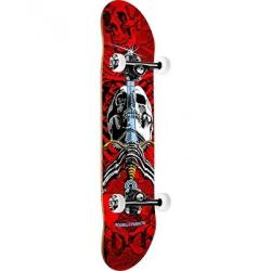 Powell Peralta - Powell Peralta SKull &Sword One Off '15' Skateboard Complete Assembly Red/White - 7.75 x 31.75