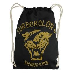 Turbokolor - Vak na záda TURBOKOLOR Co. Shoebag Black