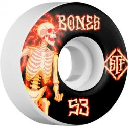 Bones Wheels - BONES WHEELS STF Blazer Skateboard Wheels V1 53mm 103A 4pk