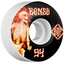 Bones Wheels - BONES WHEELS STF Blazer Skateboard Wheels V1 54mm 103A 4pk