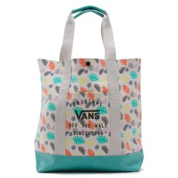 Taška VANS Been There Done That Tote - Dolphin Beach 10L / black/true white