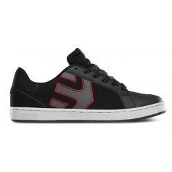 Boty ETNIES Fader Ls / black/charcoal/red